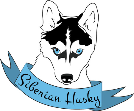 husky puppy: Dog lovers will love this design on a dog toy bag to bring to the dog park.
