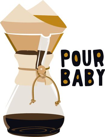 Use this coffee for a baristas shirt or apron.