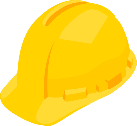 Use this hard hat for a construction company shirt. Ilustrace
