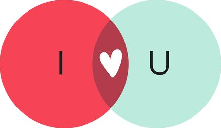 Use this humorous internet Venn diagram on a shirt for a funny friend.