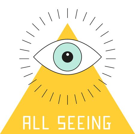 theorist: Use this eyeball on a shirt for a conspiracy theorist friend.