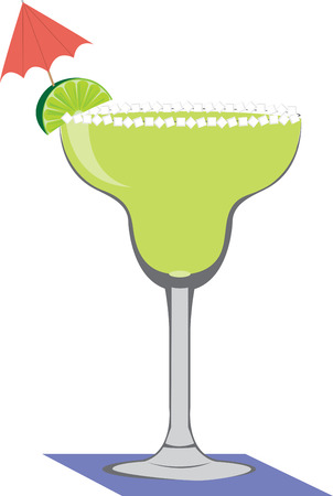 Life is grand  with a margarita in hand with this design by embroidery patterns.