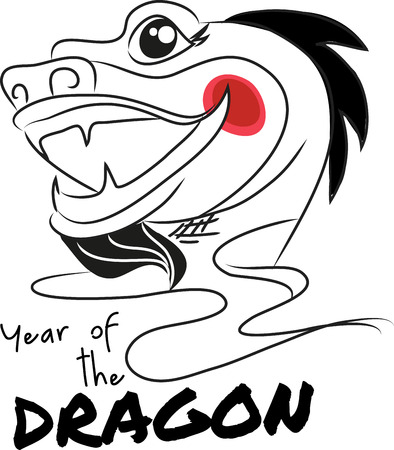 legendary: Dragon is a legendary culture in Chinese mythology. Show everyone your sign by adding this design to a hat.