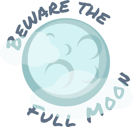 Moon has its different phases orbiting our planet Earth. Add this design to a shirt while teaching about the planets.