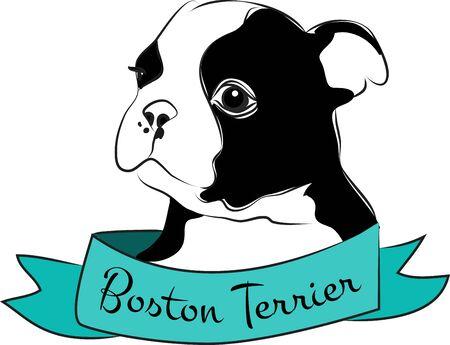 bred: Nunca olvide la Pur�sima Siempre Amor verdadero de la linda Terrier! Vectores
