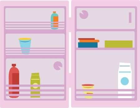 Grab this fun refrigerator image for your next design.