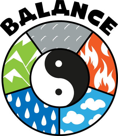 yinyang: This symbol has a very good significance in Yoga and Zodiac signs.