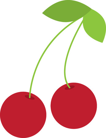 splendid: Create a splendid look for summer with these sweet cherries on place mats and linens!