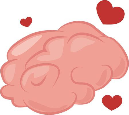 이 똑똑한 두뇌와 지식에 대한 사랑을 책 가방에 공유하십시오. 일러스트
