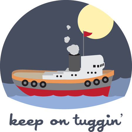 A tugboat tug is a boat that maneuvers vessels by pushing or towing them.