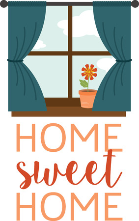 pane: Decorate your home with a pretty flower in the window