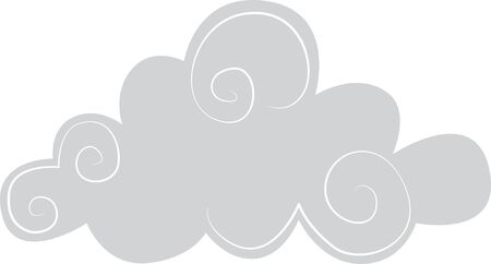 Illustrations of a Grey Clouds