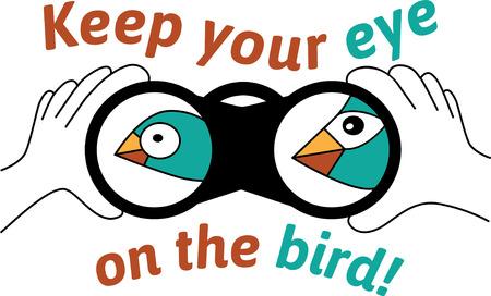 ガラスのスパイを表示する鳥