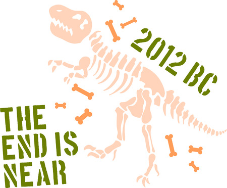 Dinosaur skeleton  Çizim