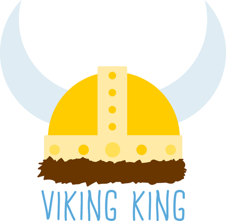 get in touch: Viking helmets with braids make powerful decorations on shirts and more.  Get creative on your projects and add a Nordic touch!