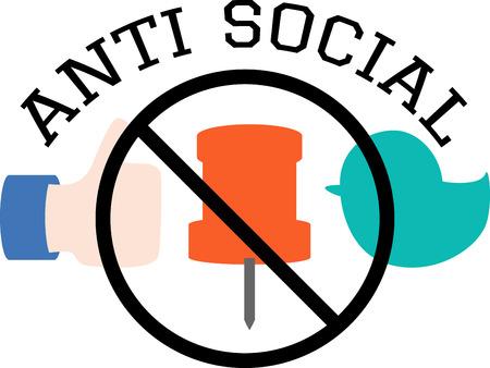 anti social: Concept of anti social
