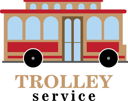 trolley auto.