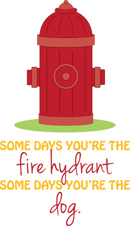 johnny: Fire hydrant. A fireman will love this design on a shirt or hat.