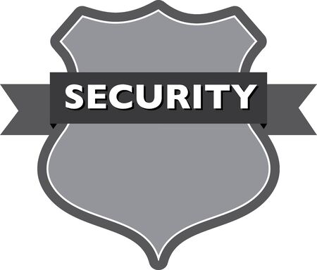 security badge Illustration