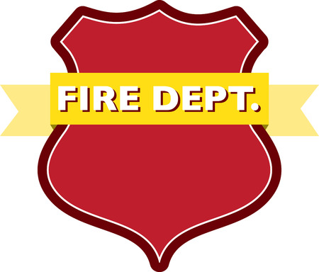 dept: badge of fire dept