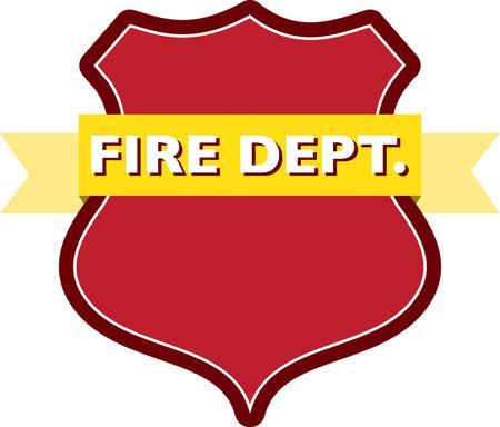 badge of fire dept