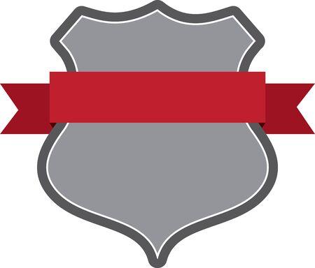the marshal: Badge Illustration