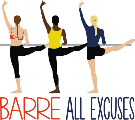 barre: A ballerina is as graceful as a tree in a light breeze.  This is a perfect gift for a dancer or teacher.  They will love it!