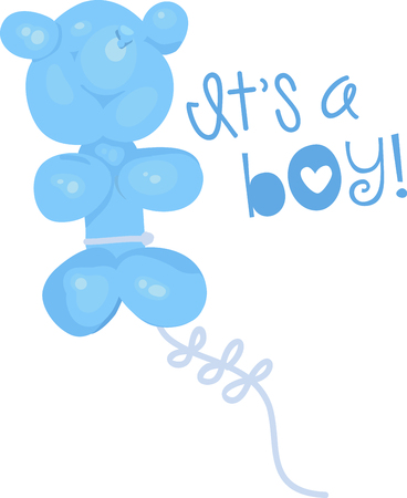 Teddy balloons are a fun way to celebrate your Kids birthday!