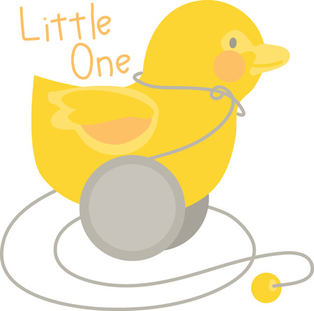 waterfowl: Quack Quack! Qwazy Qwackers! A much loved classic ideal first toy for your little one! Make your little one happy with this image by Embroidery patterns. Illustration