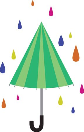brolly: Decorate your home with a pretty flower in the window. Illustration
