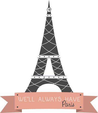 楽しみを覚えてこのエッフェル塔のデザインとパリへ旅行。 T シャツに最適です。