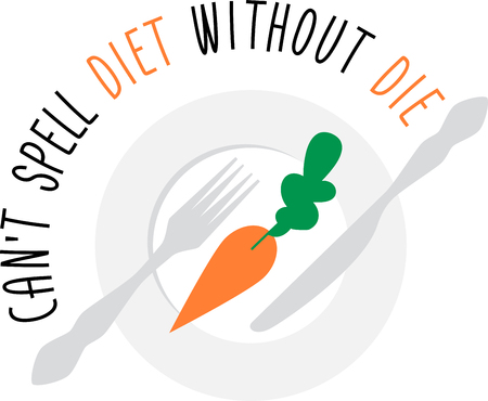 loves: This cute design will be perfect on napkins for Easter.  Everyone loves carrots, even the Easter bunny. Illustration