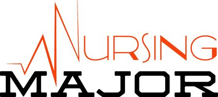 Use this humorous major design for a nursing college student.