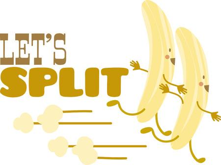weegbree: Pronk met uw domme kant met een grappige bananenschil.