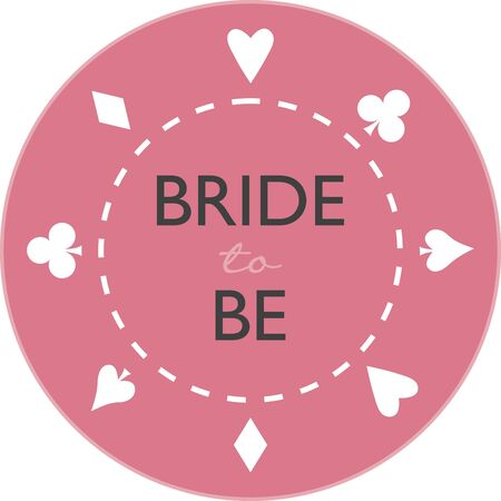 cor: Turn this simple design into a style statement.  The card suit will add sparkle to bridal shower projects.