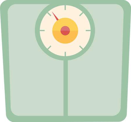 이 체중계를 사용하여 식단에 영감을 불어 넣으십시오. 앞치마 또는 수건에 추가하십시오.