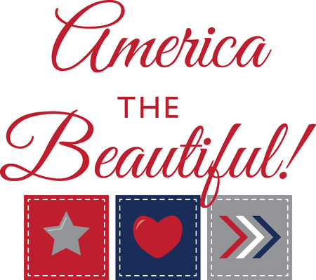 national pride: Make a perfect tribute to the land that you love with this patriotic and national pride design on your projects.