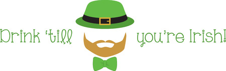 handlebar: Celebrate Ireland and your Irish heritage with this great Saint Paddys Day design on your holiday projects!