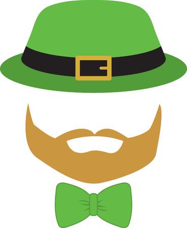 miras: İrlanda ve tatil projelerinde bu büyük Aziz Paddy Günü tasarımı ile İrlandalı mirasın kutlayın! Çizim