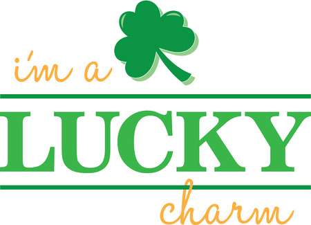 lucky charm: Make St. Patricks Day festive with this shamrock design on tees, totes, aprons, pillows, kitchen towels, and more!