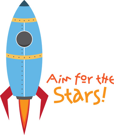 This cute little design will be perfect for your little astronaut on t-shirts