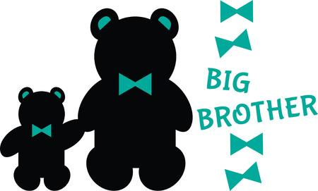 Simple design with teddy bears