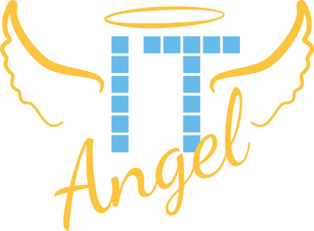 IT angel design