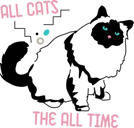 Illustration of cat  Illustration