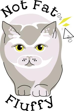 Illustratie van kat