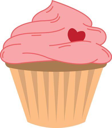 おいしいカップケーキ