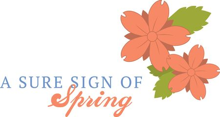 especially: Spring flowers are a perfect design to cheer someone up.  Add this to a shirt made especially for them.