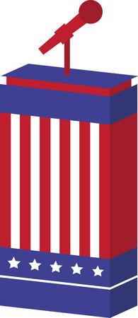 Maakt niet uit wat je kiest partij, toon uw patriottisme en stem! Dit ontwerp zal perfect op t-shirts, banners en meer voor uw kandidaat!