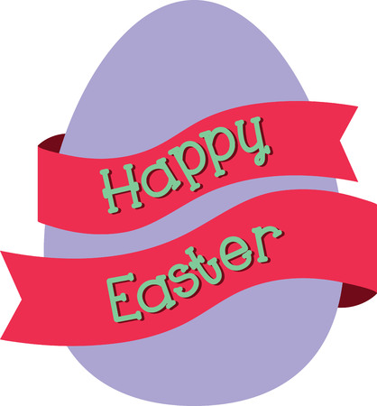 Send a perfect Happy Easter message to a loved one.  They will love this design Illusztráció