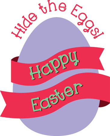riband: Send a perfect Happy Easter message to a loved one.  They will love this design Illustration